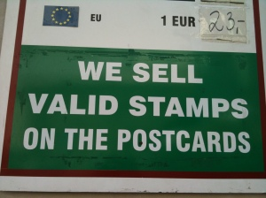 Good to know they're not invalid stamps.