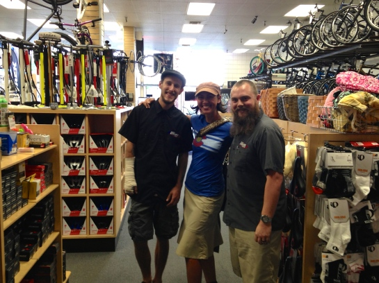 Thank you to the bike dudes at Palm Springs Cyclery for all your help!